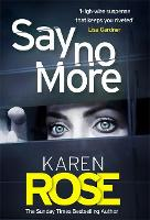 Jacket image for Say No More